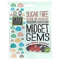 Free From Fellows Midget Gems 70g (pack of 6) - ミゼットジェムズ70g(6個入り)