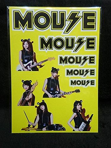 乃木坂46 マウスコンピューター mouse ステッカー 乃木マウスバンド
