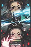 "Notebook: Kimetsu no yaiba anime, Journal for Writing, College Ruled Size 6"" x 9"", 110 Pages"