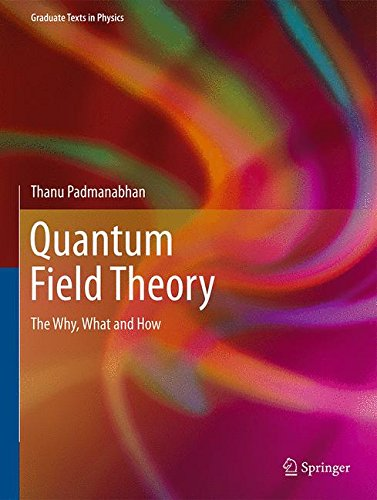 Download Quantum Field Theory: The Why, What and How (Graduate Texts in Physics) 3319281712