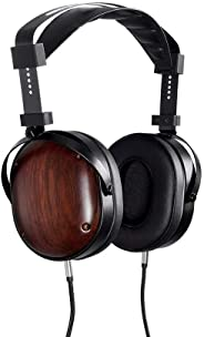 Monolith M565C Over Ear Planar Magnetic Headphones - Black/Wood With 106mm Driver, Closed Back Design, Comfort Ear Pads For Studio/Professional