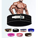 RAD Weight Lifting Belt Powerlifting Men & Women, Weightlifting 10 mm Lever Belt