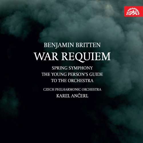 ブリテン : 戦争レクイエム | 春の交響曲 他 (Benjamin Britten : War Requiem | Spring Symphony | The Young Person's Guide to The Orchestra / Czech Philharmonic Orchestra , Karel Ancerl) (2CD) [輸入盤]