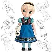 Animators Collection Elsa Doll Holding Olaf [並行輸入品]