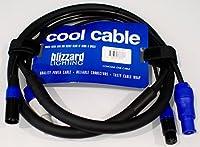 Blizzard 6ft PowerCon plus 3-Pin DMX Combo Cable - New [並行輸入品]