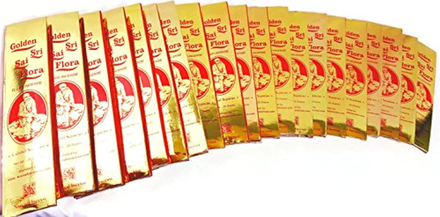 豚肉覗く人事Golden Sai Flora Incense