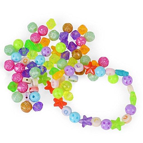NextX ビーズアクセサリー キット 手芸用品 想像力を発揮 子供・女の子向けのおもちゃ