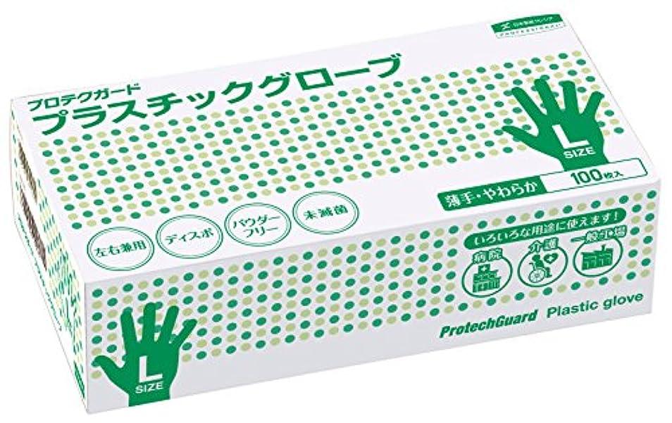 暖かさ国シャツプロテクガード プラスチックグローブ