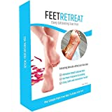 Foot Peel Mask, Deep Exfoliating Callus & Dead Skin Removal - Great For Cracked Heels - Smooth Feet in 7 Days For Men & Women