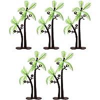 FUNSHOWCASE ジオラマ キット おもちゃ ココナッツパーム 木 5個セット 手作り ミニチュア インテリア ドールハウスキット ハンドメイド フィギュア
