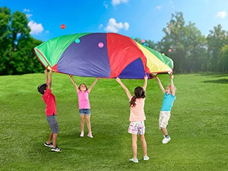 12-foot Play Parachute Kids Canopy Children Wind Tent [並行輸入品]