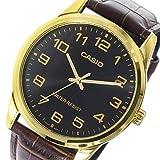 カシオ ベーシック クオーツ メンズ 腕時計 MTP-V001GL-1B ブラック [並行輸入品]