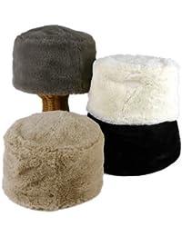 ノーブランド品 フェイクファーロシアン帽 レディース帽子
