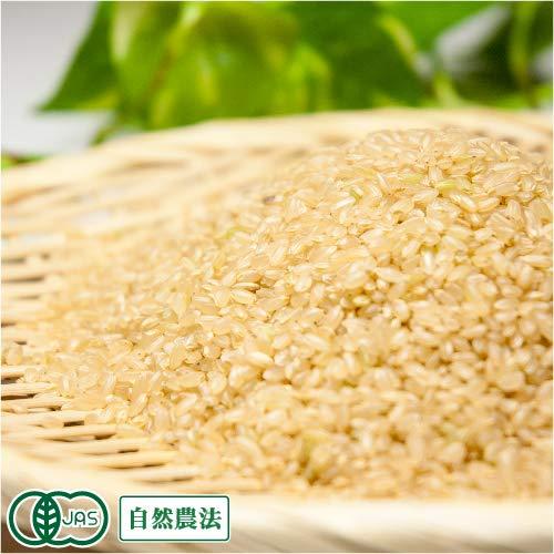 【令和元年度産】 清正 玄米5kg 有機JAS 自然農法 (熊本県 那須自然農園) 産地直送 ふるさと21