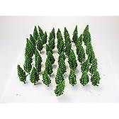 【Good in three directions】もふもふ 大 森林 のっぽな 木 樹 ジオラマ 模型 用 Z N ゲージ 約7㎝ 50 本セット