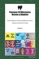 Pomapoo 20 Milestones: Rescue & Adoption: Pomapoo Milestones for Memorable Moments, Rescue, Adoption, Socialization & Training Volume 1