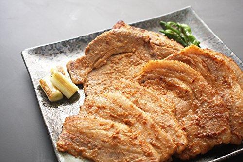 肉の滝沢 選べる豚肉味噌漬け薄切り 麓山高原豚 肩ロース肉900g
