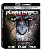 Planet of the Apes Trilogy (4K UHD + BD + Digital HD)[UHDのみ日本語あり](Import)