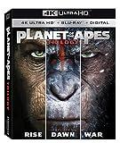 APE Planet of the Apes Trilogy (4K UHD + BD + Digital HD)[UHDのみ日本語あり](Import)
