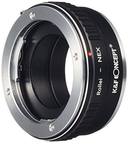 K&F Concept レンズマウントアダプター KF-QBME (ローライQBMマウントレンズ → ソニーEマウント変換)