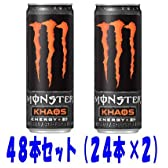 モンスターカオス ドリンク 355ml缶 48本セット(24本×2) (Monster Energy KHAOS)