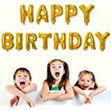 HAPPY BIRTHDAY 文字 風船 誕生日 バルーン バースデーパーティー アニバーサリー などに 装飾