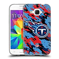オフィシャル NFL カモフラージュ テネシー・タイタンズ ロゴ ソフトジェルケース Samsung Galaxy Core Prime