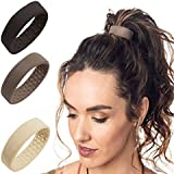 Silicone Hair Tie Elastic Bands Ponytail Holder Multifunction Foldable Hair Accessories