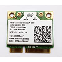 汎用 Intel Centrino Wireless-N 2230 802.11b/g/n 300Mbps + BlueTooth 4.0 (2230BNHMW)無線カード