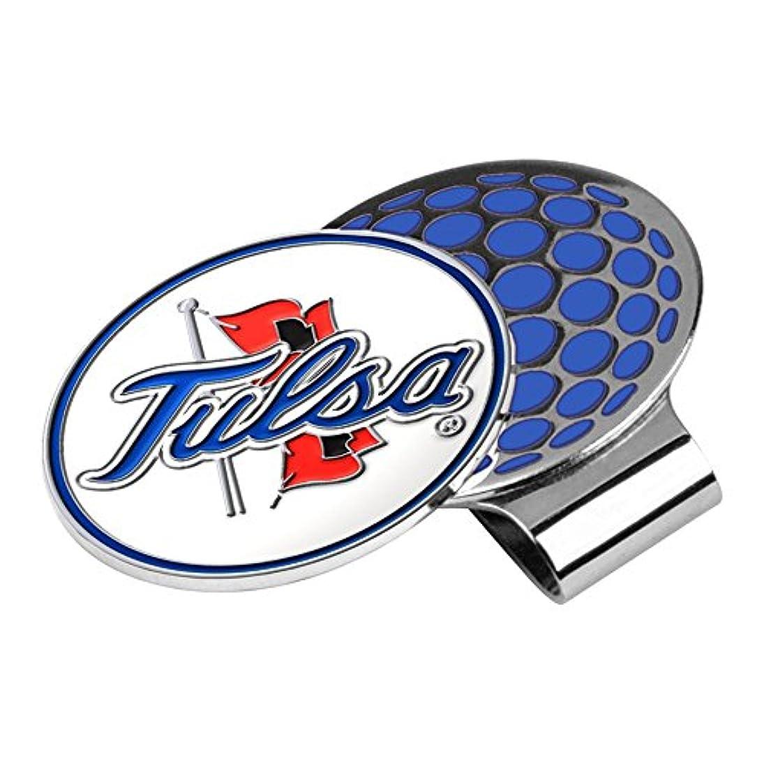 まともなパースTulsa Golden Hurricane Golf Hat Clip & Ball Marker
