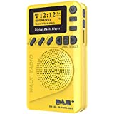 Docooler Pocket DAB Digital Radio Mini DAB+ Digital Radio with MP3 Player FM Radio LCD Display
