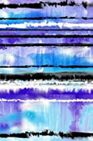 Water Paint Journal: Water Paint Smudge Patter Journalblank Lined Composition Notebook 75 Sheets / 150 Pages 6 X 9 Inch