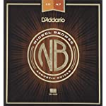 D'Addario ダダリオ アコースティックギター弦 ニッケルブロンズ Extra Light .010-.047 NB1047 【国内正規品】