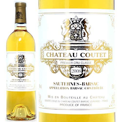 2008 シャトー クーテ 750mlバルザック第1級 白ワイン コク極甘口 ワイン ((AJCT01A8))
