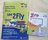 シンガポール プリペイドSIM 4Gまたは3G 8日間データ通信定額 無制限利用