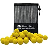 EKIND Bulk Refill Ammo Bullet Balls Compatible for Nerf Rival, Apollo, Zeus, Khaos, & Atlas Blasters (100 Pack, Yellow)