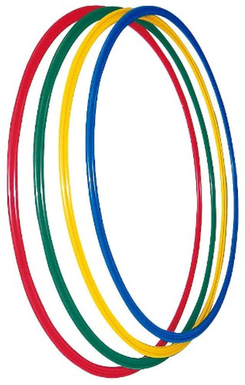 TOEI LIGHT(トーエイライト) フラットフープ 4色1組(青?緑?赤?黄)
