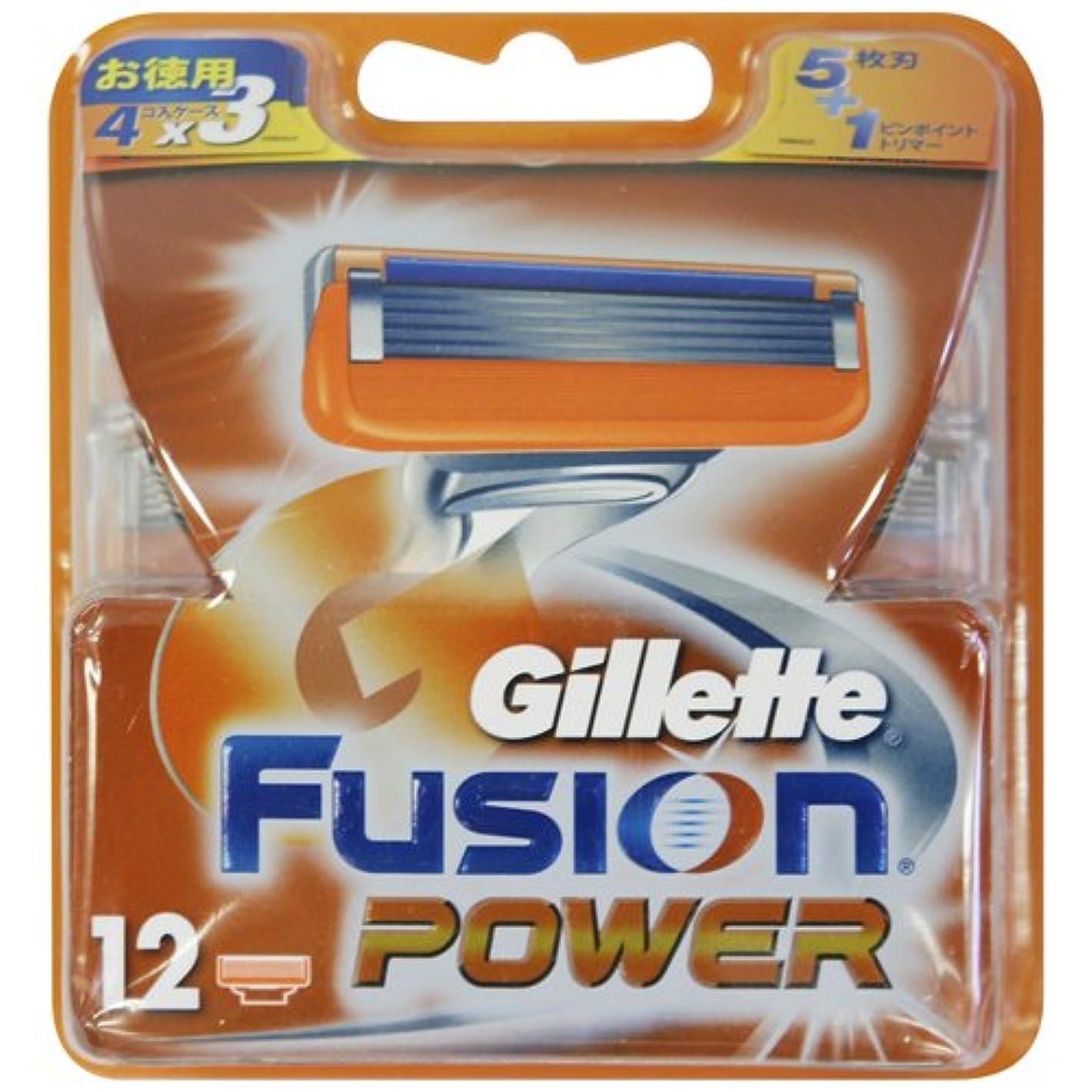 加入アンペアカッタージレット フュージョン5+1パワー 専用替刃 12B