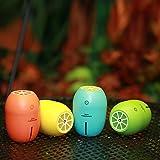 Cosy Zone 超音波 加湿器 可愛いレモン LEDライト付き 超静音 空焚き防止 USB給電 卓上 車載 カラー選択可能