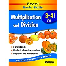 Excel Basic Skills Workbook: Multiplication and Division Years 3-4