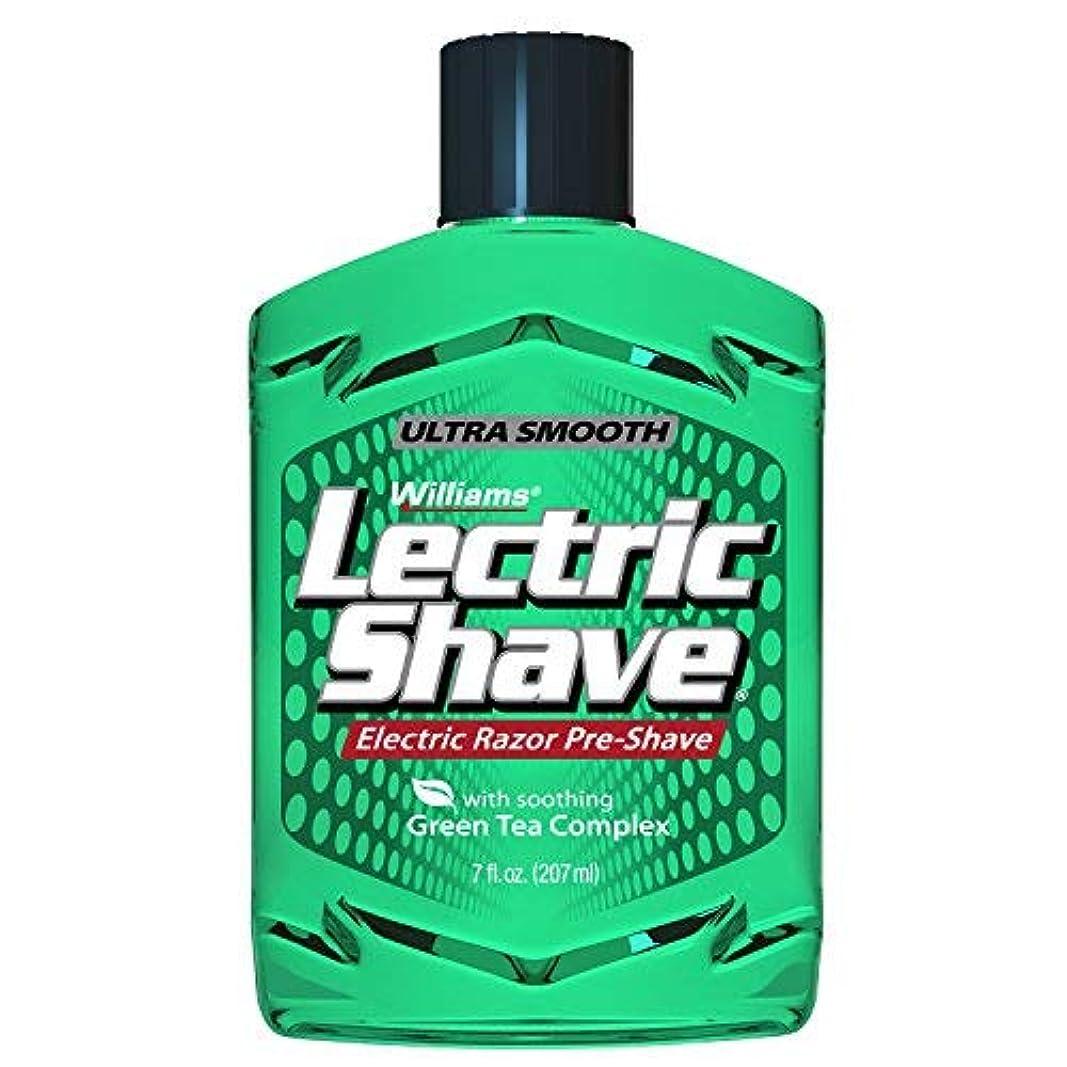 唯物論排泄するワックスWilliams Lectric Shave 7 Ounce [並行輸入品]