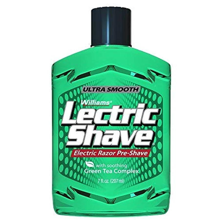 ジャンプする即席マラソンWilliams Lectric Shave 7 Ounce [並行輸入品]