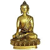 仏像の置物 薬剤師仏像/仏陀の王 黄銅製の工芸品 風水 仏壇用仏像 開運祈願 縁起物  飾り物 精铜