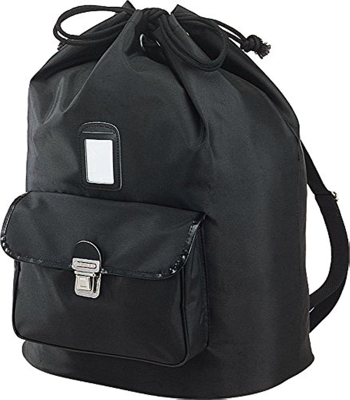 九桜 剣道 道具袋 ファッションナイロンリュック 黒 FN72B