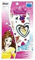 ディズニー 美女と野獣 ベル ボディジュエリー シール シート コスチューム用小物 男女共用 W11.8×H17.7cm