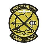 自衛隊グッズ ワッペン 航空自衛隊 築城基地 第6飛行隊 ハイビジュアル パッチ
