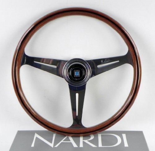NARDI(ナルディ) CLASSIC(クラシック) ウッド&ポリッシュスポーク 380mm ステアリング N140 N140
