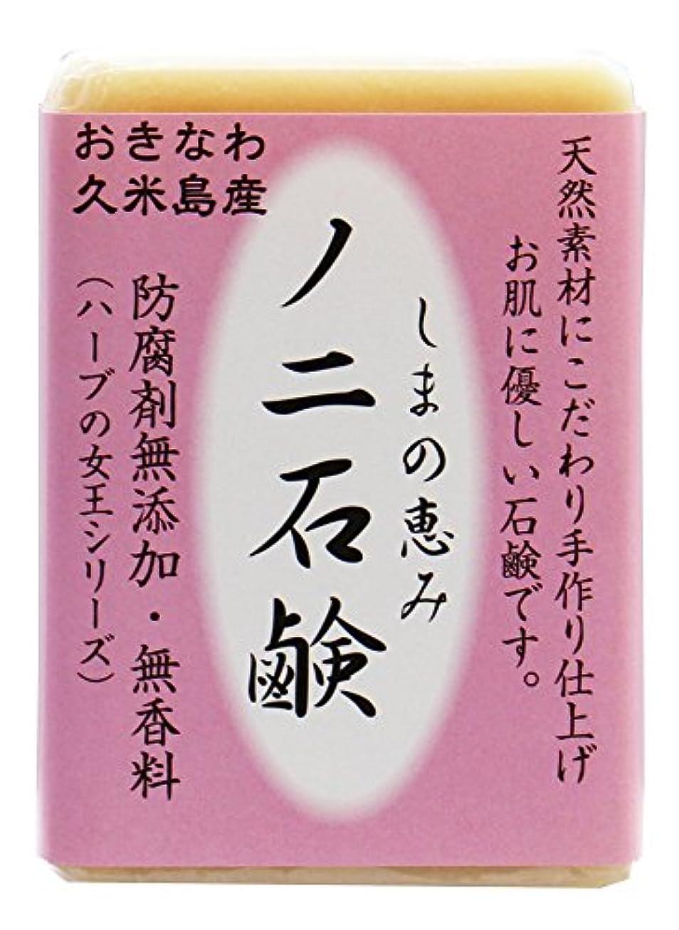 苦難火ソロ島の恵み ノニ石鹸 100g 沖縄県久米島産ノニ使用