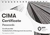 CIMA BA2 Fundamentals of Management Accounting: Passcards