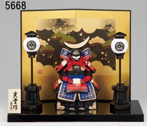 ミニ 小さめ 男の子 初節句 桃太郎 端午の節句を飾る 陶製...